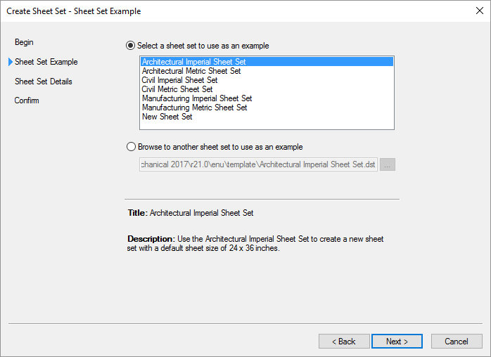 AutoCAD-Sheet-Set-New Sheet Set Example