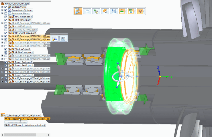 Relationship Awareness in Solid Edge Assembly