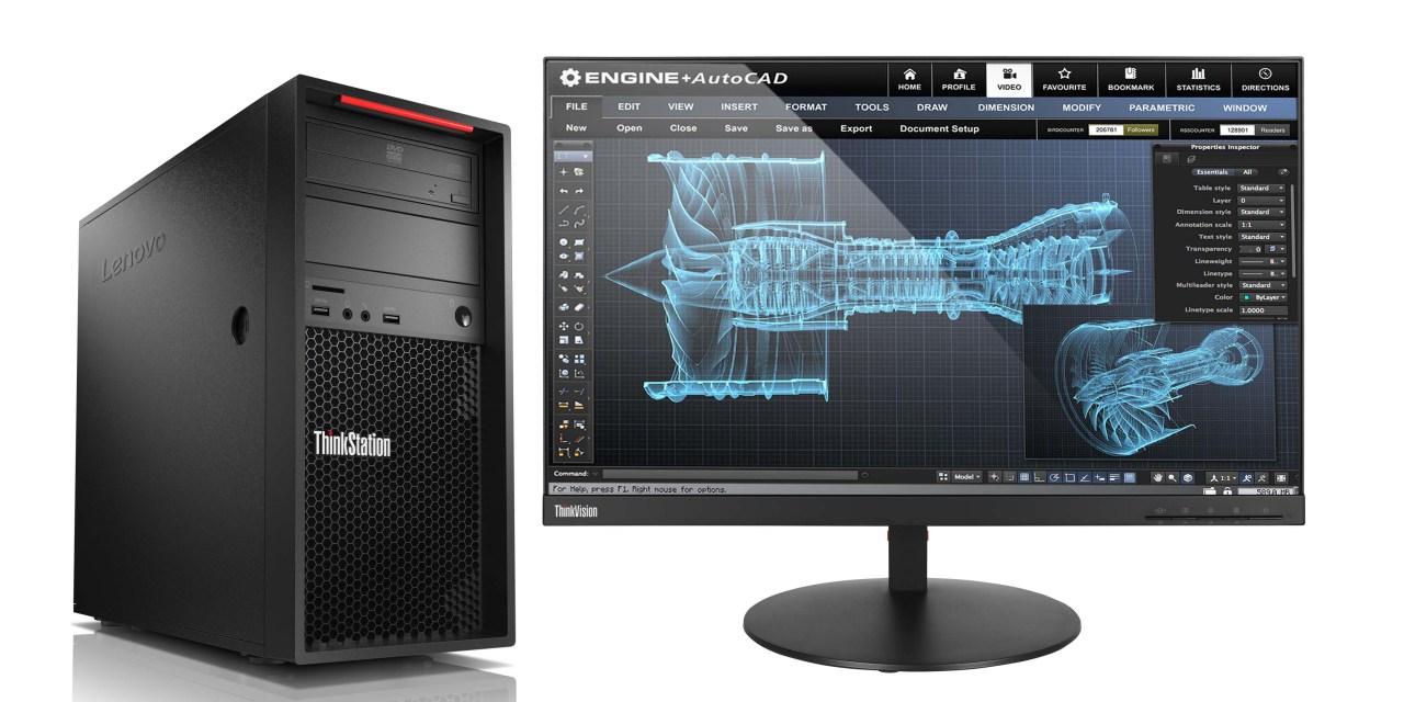 New at AU: Lenovo ThinkStation and ThinkPad