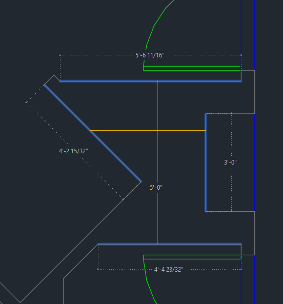 AutoCAD 2020 Quick Measure