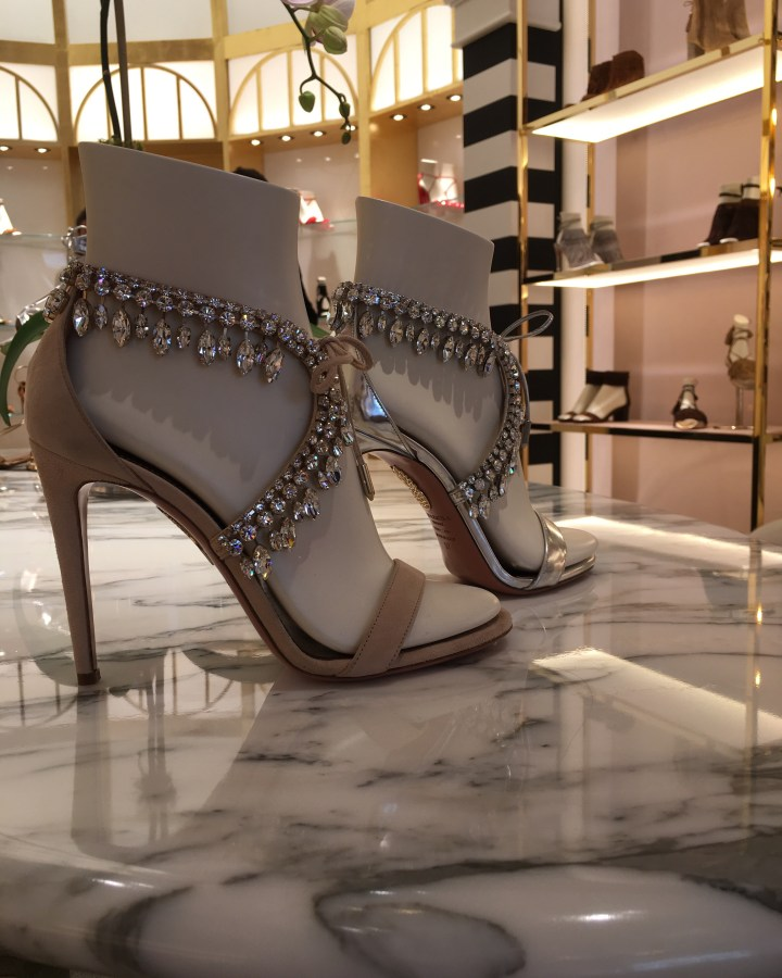If You Have To Wear Shoes….Aquazzura