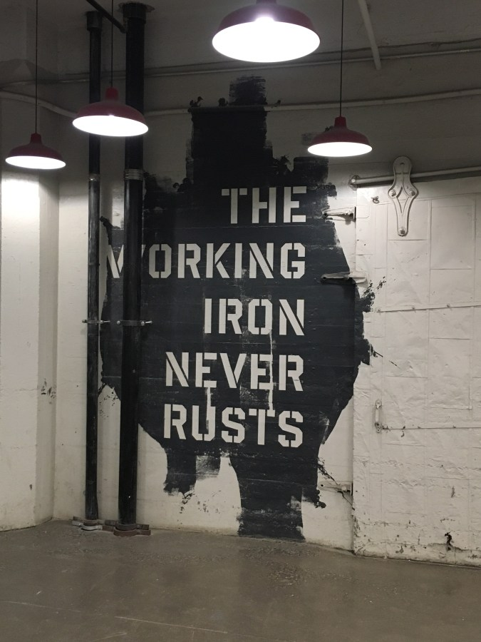The Working Iron Never Rusts