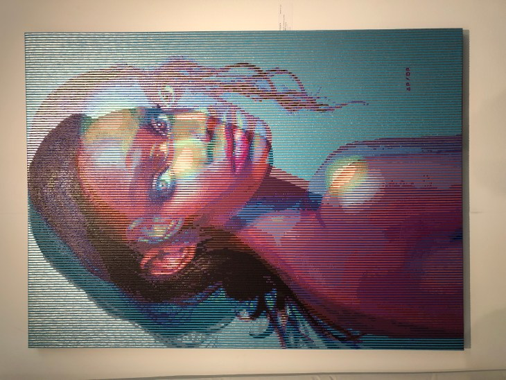 Design and Style Report, image Art Show NY, Alan Pinar Du Pre, Fremin Gallery