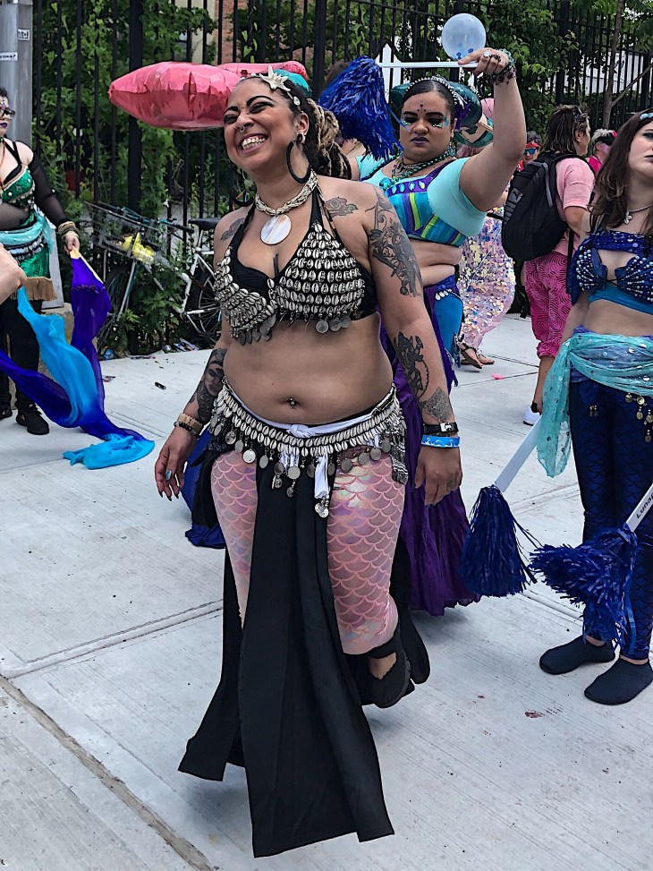 Design and Style Report, image Mermaid Parade, Coney Island
