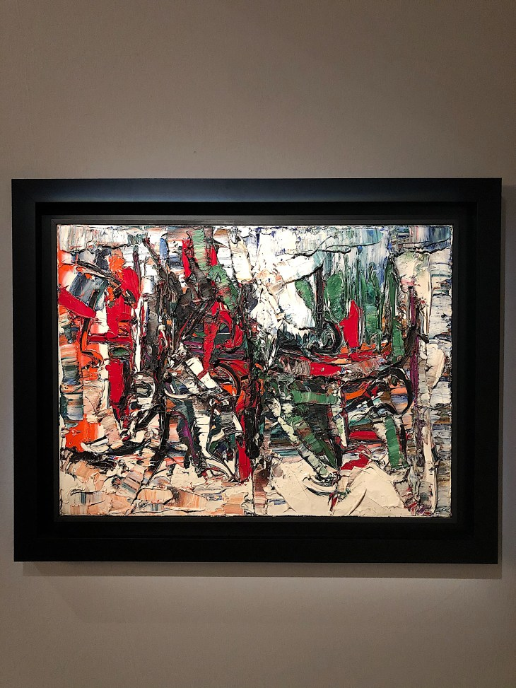 Design and Style Report image, Salon Art + Design, Jean-Paul Riopelle, Mazzoleni Gallery