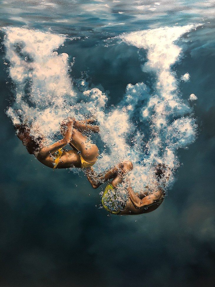 Design and Style Report image, Eric Zener painting, Gallery Henoch, NY