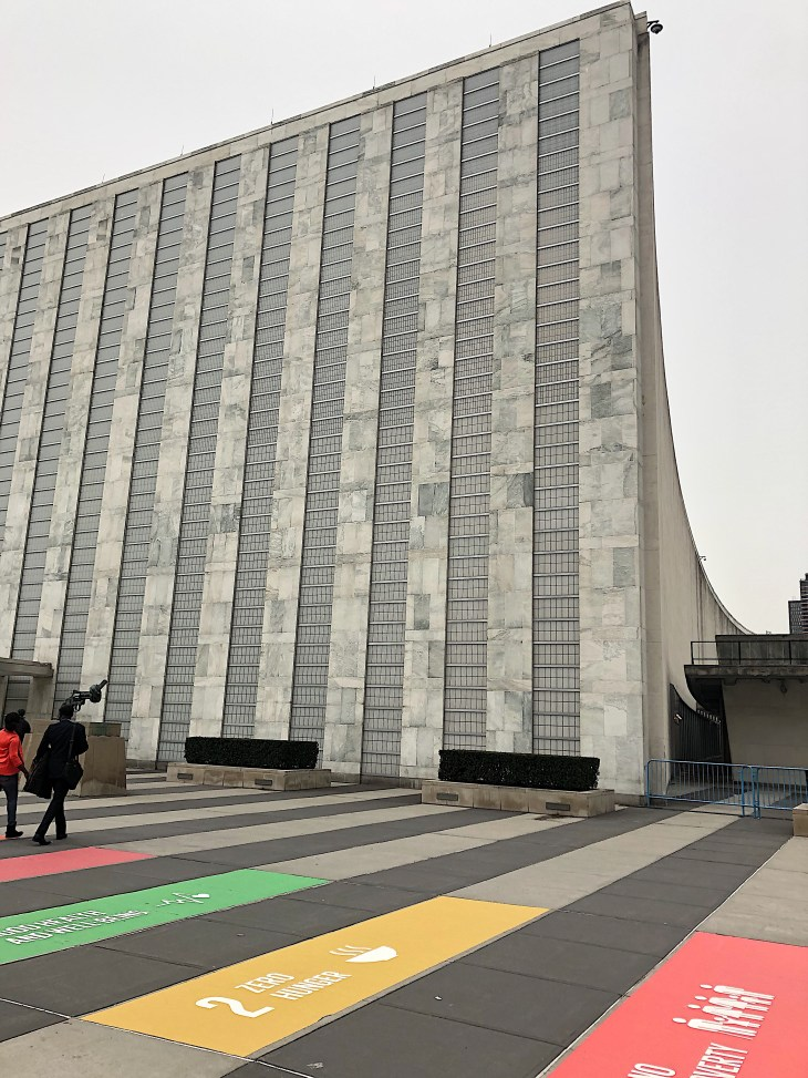 Design and Style Report image, United Nations Plaza NY
