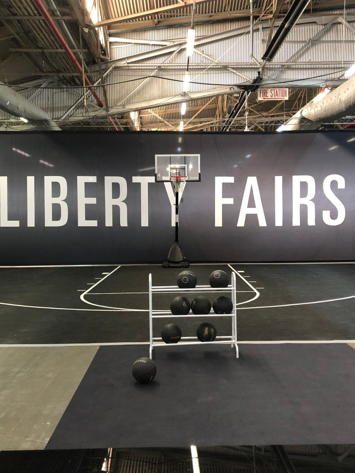 Design and Style Report image, Liberty Fairs basketball court