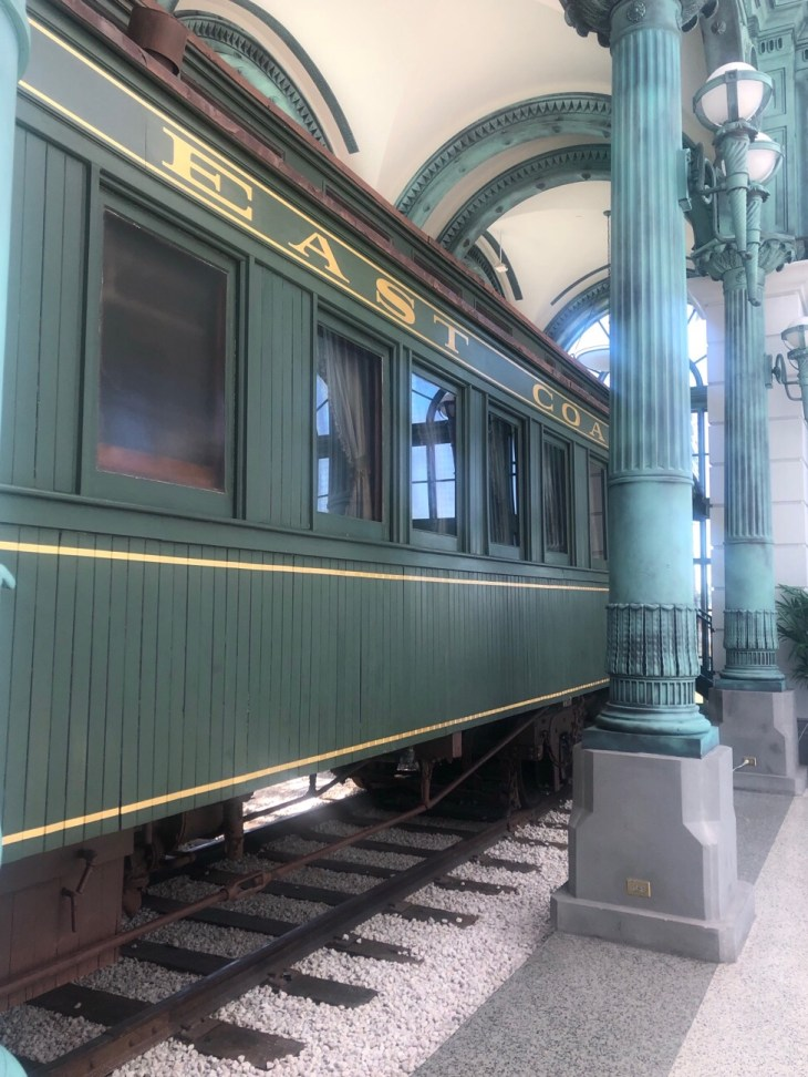 Design and Style Report image, Flagler Museum, Palm Beach, Railcar No 91