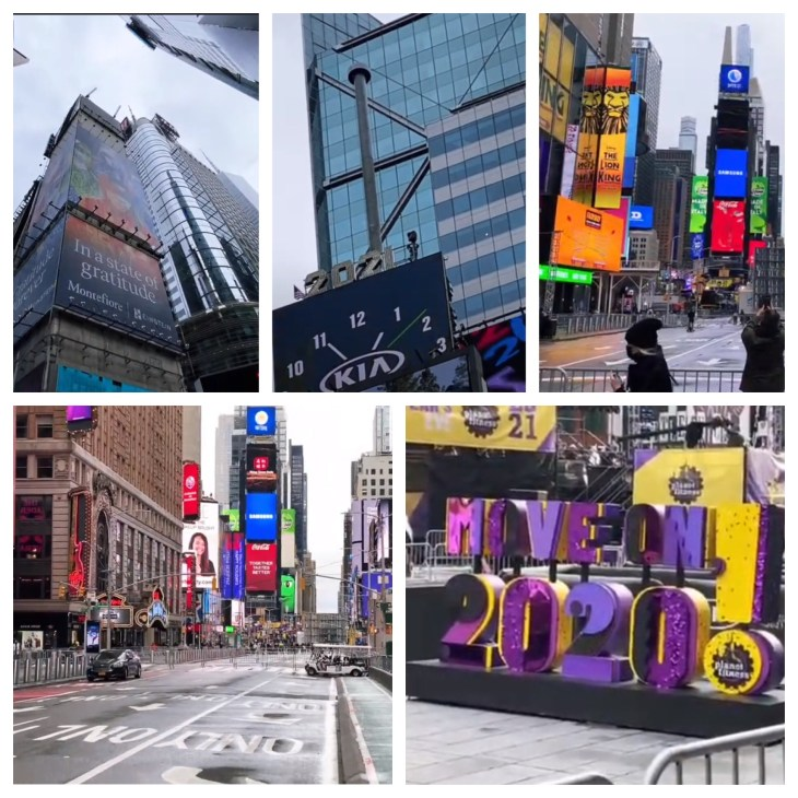 Design and Style Report Image, Times Square NYC 2020