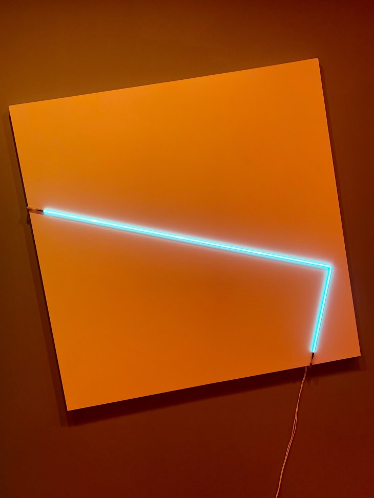 Design and Style Report image, François Morellet artwork at Hauser & Wirth New York