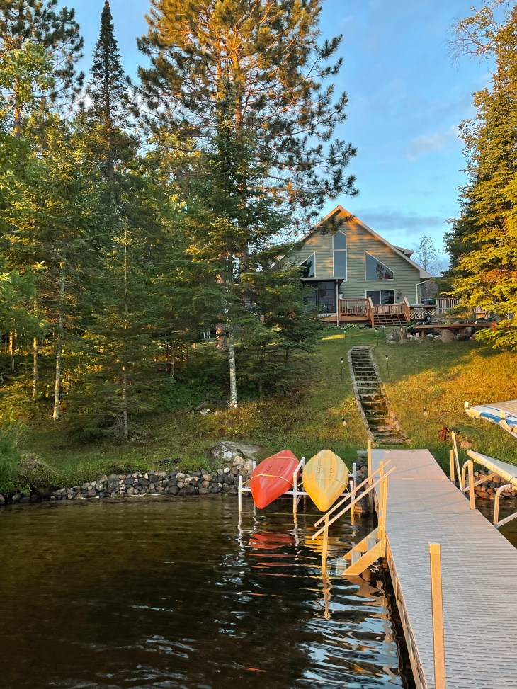 Design and Style Report image, lake house in Minnesota