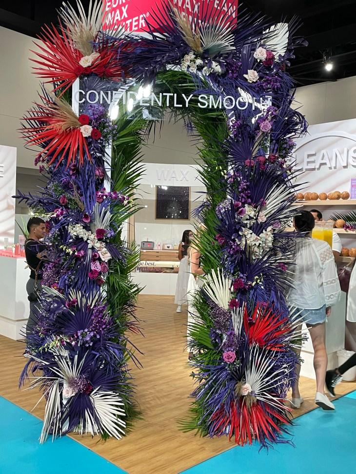 Design and Style Report image, Cabana show Miami Beach Florida, European Wax Center booth