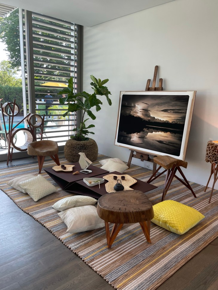 Design and Style Report image, Hoildy House Designs Tabletop event at Topping Rose House, Bridgehampton, Campion Platt x Heritage Brazil