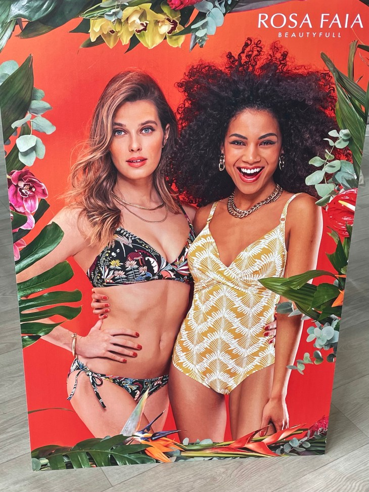 Design and Style Report image, Curve New York and Spring Studios, Rosa Faia beachwear