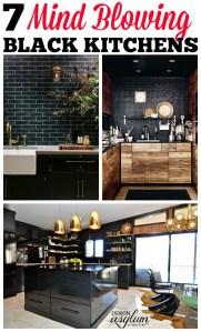 7 mind-blowing, sexy black kitchens | Design Asylum by Kellie Smith