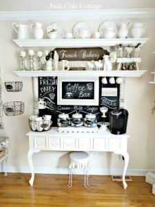It's National Coffee Day! Check out these awesome home coffee stations.