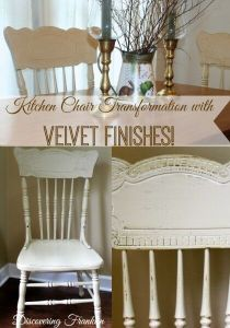 Soulful Kitchen Chairs Transformation with Velvet Finishes - SOULFUL November Colour of the Month