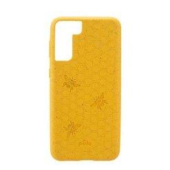 Pela Classic Engraved miljövänligt Samsung S21+ fodral - Honey Bee