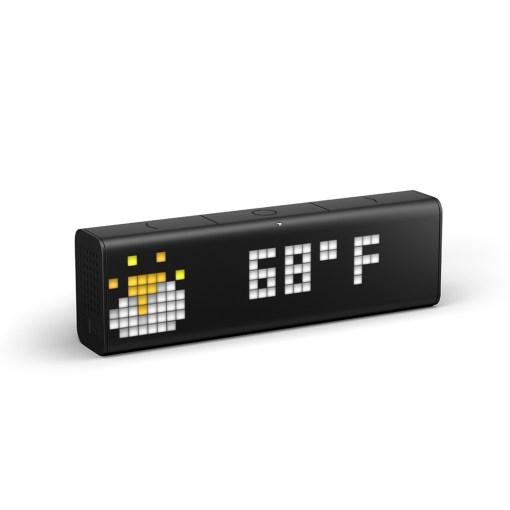 LaMetric Time - Smart instrumentpanel i realtid / klocka / aviseringar. Strömma din musik