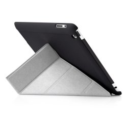 Pipetto iPad 2/3/4 Origami-fodral - Svart