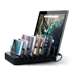 Satechi 7-portars USB laddningsstation (2 x USB-C portar)