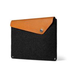 Mujjo Sleeve 12? - Premium-fodral för MacBook med detaljer av äkta läder