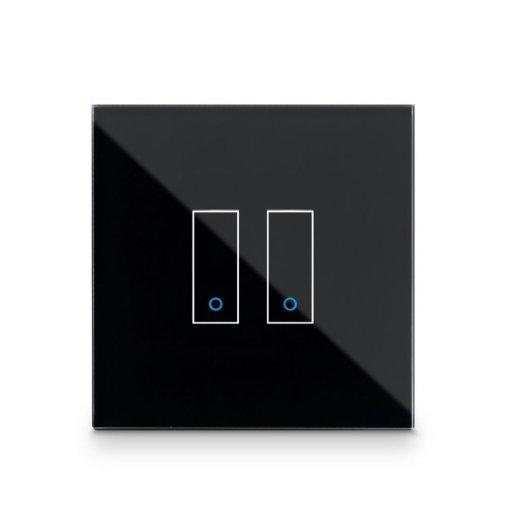 Iotty Smart Switch dubbelknapps frontpanel - Designa din egen smarta strömbrytare