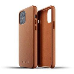 Mujjo Full Leather Case för iPhone 12/12 Pro