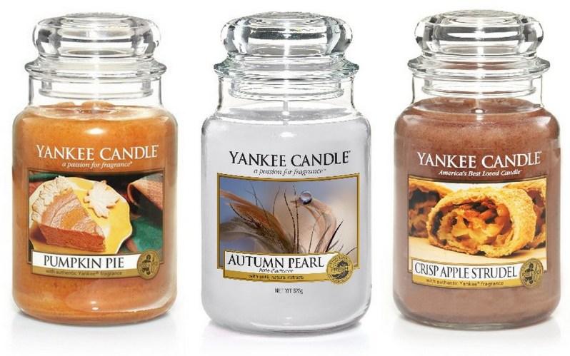 podzimní vůně svíčky yankee candle