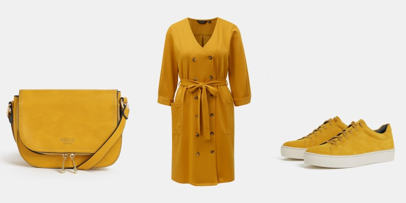 jak se nosí hořčicová a kanárkově žlutá módní trendy (1)