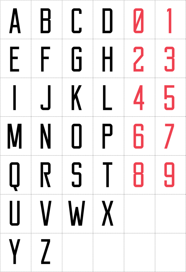4.Free Font Of The Day  Reckoner