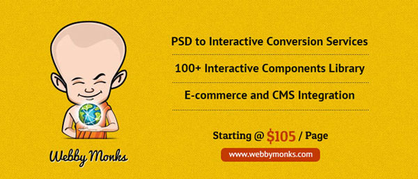 5. PSD To HTML Services