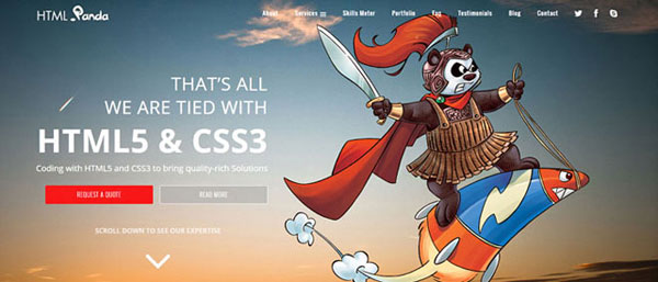 9. PSD To HTML Services
