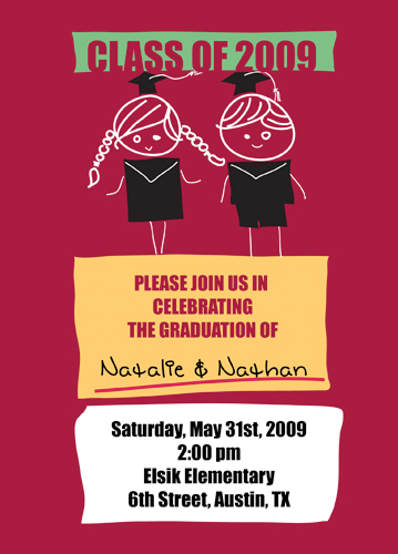 Cheap High School Graduation Announcements