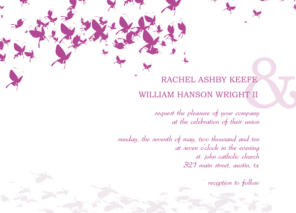 Digital Wedding Invitation Templates
