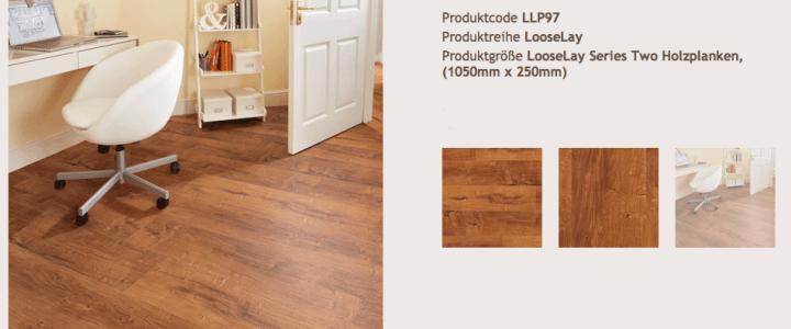 Designflooring LooseLay Designboden Winchester LLP97 selbstliegend