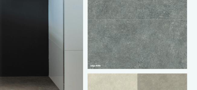 berryAlloc Pure Stone 55 - Designbelag Fliesen im Test Vergleich