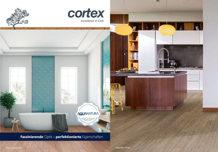 cortex Aquanatura Designboden - die Innovation