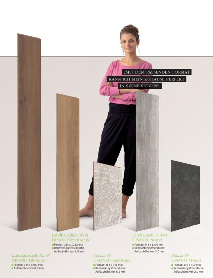 HARO Disano Design Boden Linien und Formate