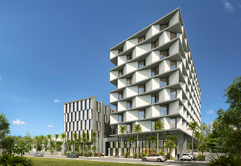 DOS Architects Propose The First Radisson RED Hotel In