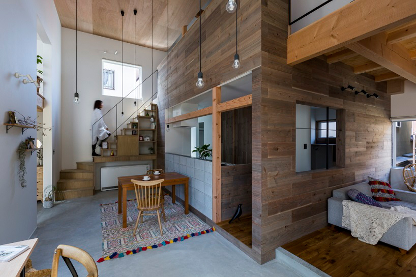 Cozy House By ALTS Design Office In Uji City, Japan