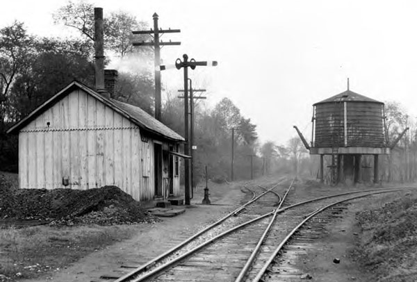 Minerva Junction on the W&LE, circa 1925.