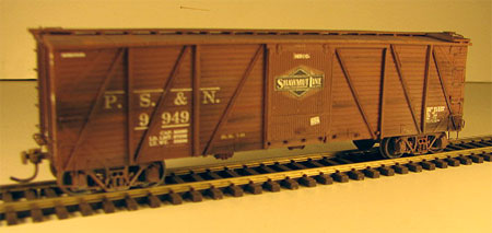 PS&N Mather box car