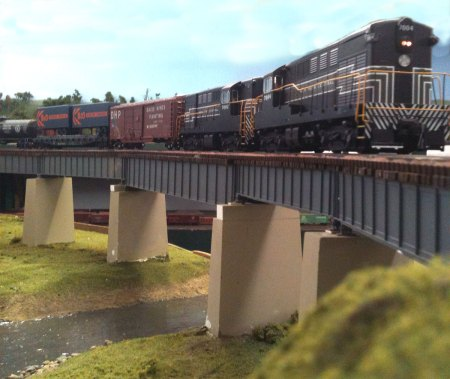 FMs on high bridge