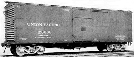 Union Pacific B-50-6 box car