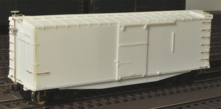 Northern Pacific 36-foot, double sheathed box car.