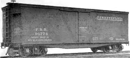 Pennsylvania Railroad XL class box car