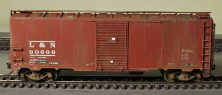 The L&N box car is ready for service.