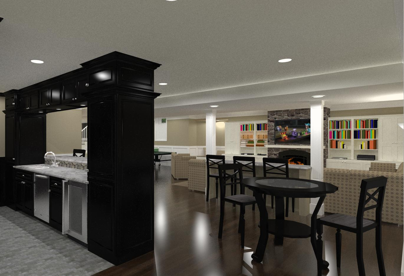 Basement Finishing And Remodeling Designs In Morris County NJ Design Build Planners